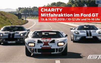CHARITY Mitfahraktion im Ford GT